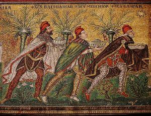three wise men san apollinare nuovo and ravenna