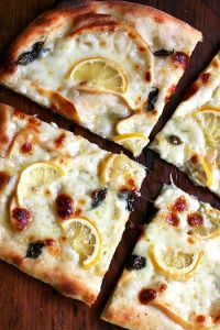 pizza and lemons
